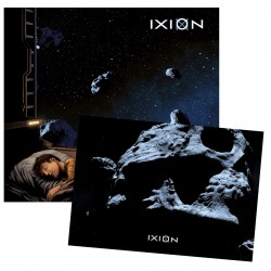 "Bundle CD et Carte A5 Collector IXION ""Enfant de la Nuit"""