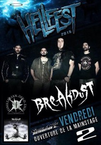HELLFEST 2015 BREAKDUST