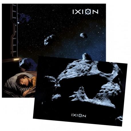 """Bundle CD and A5 Collector Card IXION """"Enfant de la Nuit"""""""