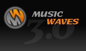 logo music waves